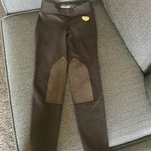 Horze Juniors winter fleece lined breeches XL